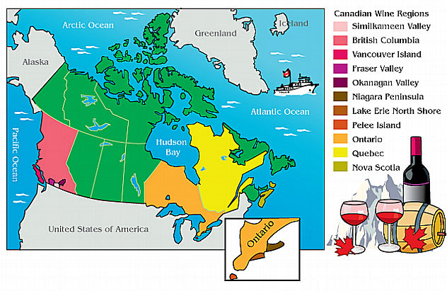 Lush Canada Map Canadian Wines at Lush | Chicago Pinot 2.0