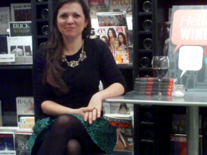 Certified Sommelier Melanie Wagner shared her transition from preschool teacher to author and wine consultant, at Lincoln Square bookstore The Book Cellar.